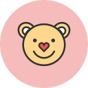 bear, love icon