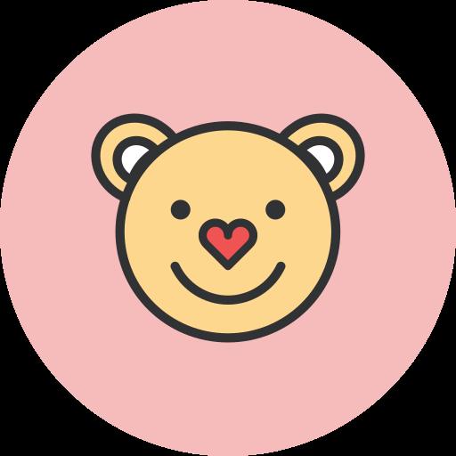 bear, love icon