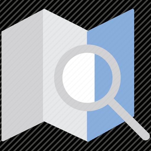 location, map, navigation, search, search location icon