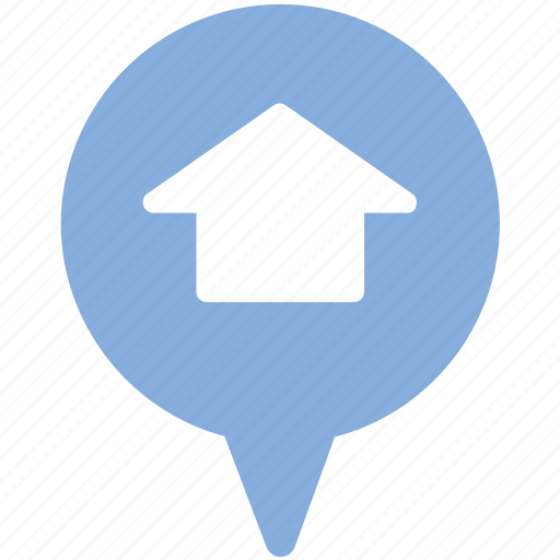 general, home, home position, house, location, map, position icon