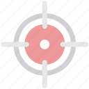 crosshair, direction, location, locator, map, navigation, position icon