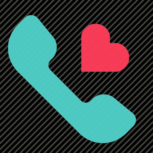 Call, love, phone, valentine, voice icon - Download on Iconfinder