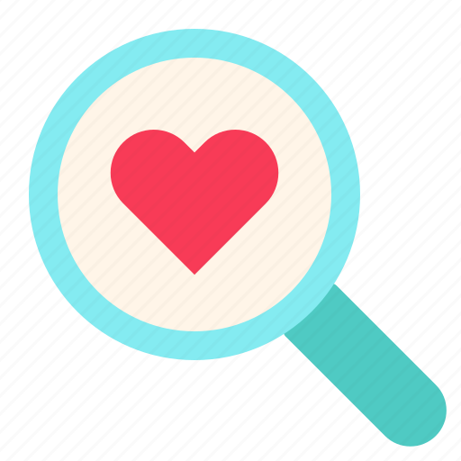 Find, heart, love, search, valentine icon - Download on Iconfinder