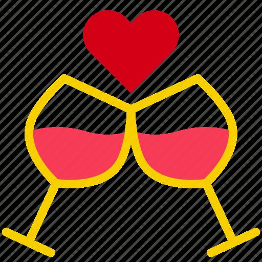 Celebrate, congrats, drink, love, valentine icon - Download on Iconfinder