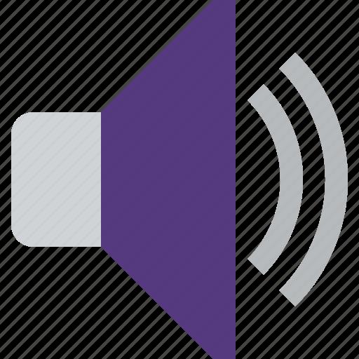 active, audio, sound, speaker, volume icon