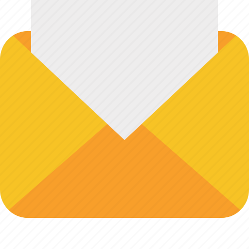 communication, email, letter, mail, message, read icon