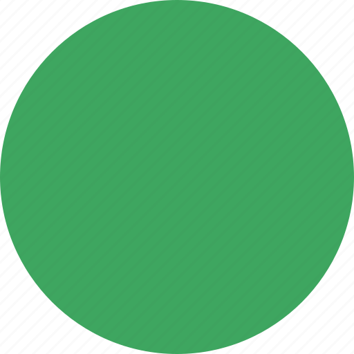 Green, marker, object, pin, point, shape icon - Download on Iconfinder