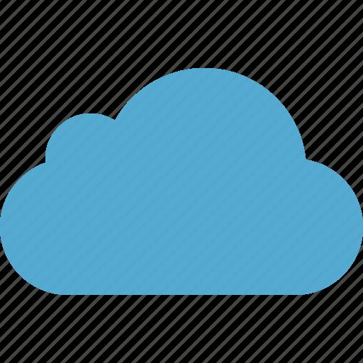 blue, cloud, network, storage, weather icon