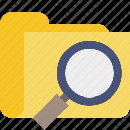 browse, file, folder, search icon