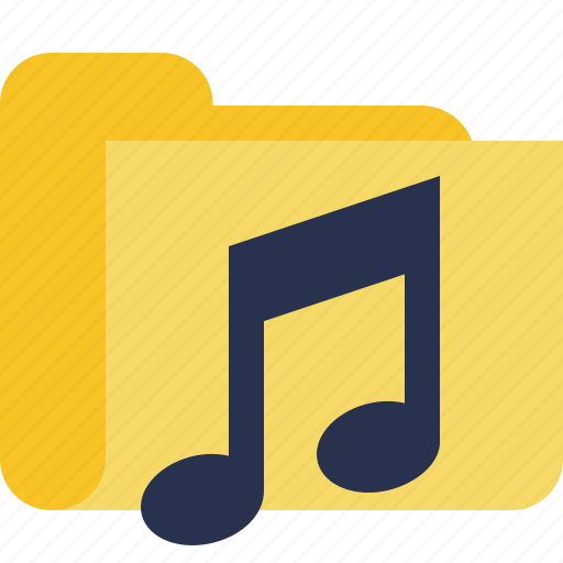 audio, folder, media, music, songs icon