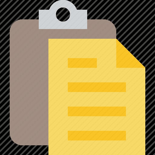 Copy, paste, clipboard, task icon