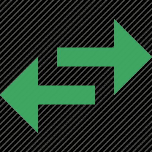 Arrows, exchange, flip, horizontal, mirror, replace, swap icon - Download on Iconfinder