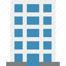 building, business, company, estate, house, office icon