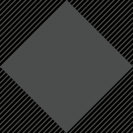 dark, diamond, marker, object, pin, rhombus, shape icon