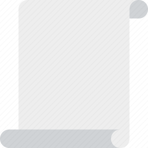 Blank, code, paper, script, scroll icon - Download on Iconfinder