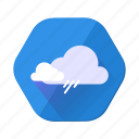 cloudy, rain, shower, cloud, forecast, storm, weather