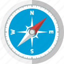 arrow, compass, direction, explore, navigation, safari, travel icon