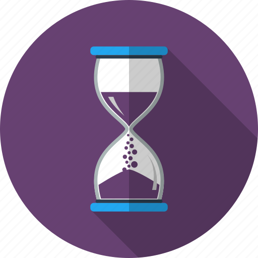 clock, hourglass, loading, management, schedule, time, waiting icon