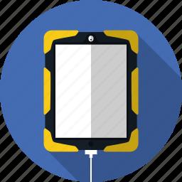 apple, case, ios, ipad, military case, touchscreen, tough case icon
