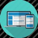 css, modern, responsive design, template, theme, website, wordpress icon