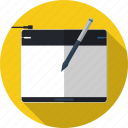 art, design, drawing, graphic design, pen, tablet, wacom icon