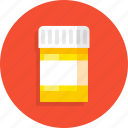 bottle, drug, healthy, medical, medicine icon