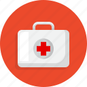 healthy, hospital, medical, suitcase icon