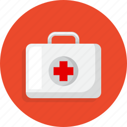 healthy, hospital, medical, suitcase icon