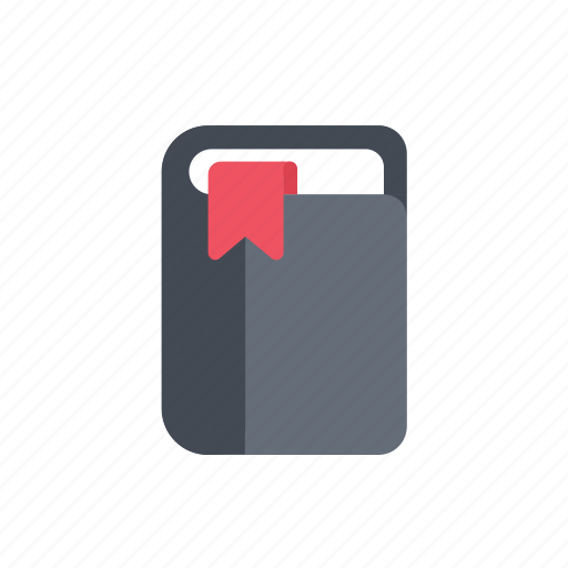 book, contacts, id, journal icon