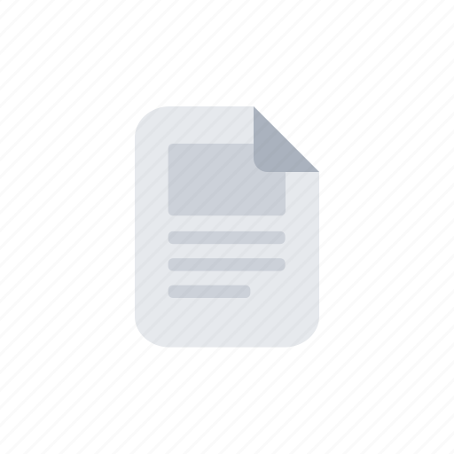 Document, file, paper, text icon - Download on Iconfinder