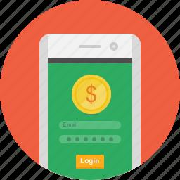 app, mobile, money, money app, payment, payment gateway, transfer icon