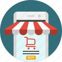 app, cart, ecomemrce, mobile, shop, shopping, shopping cart icon