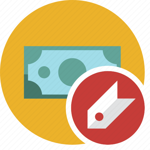 cash, commerce, currency, dollar, money, tag icon