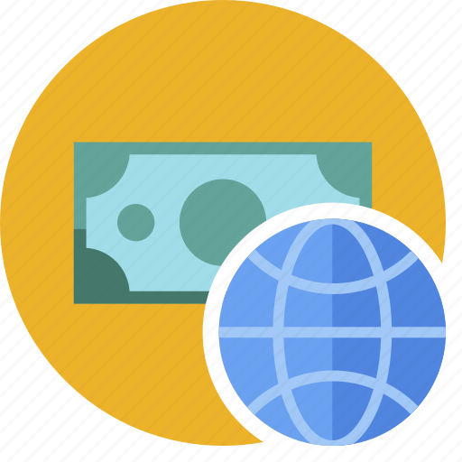 cash, commerce, currency, dollar, money, web icon