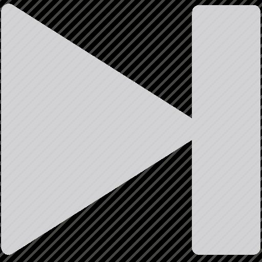 audio, fast forward, forward, last, music, next icon