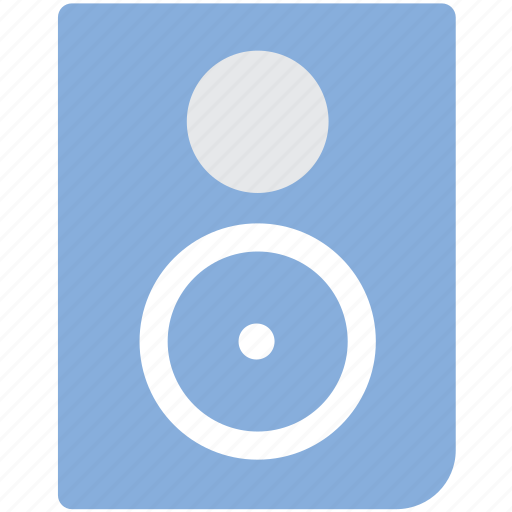 Audio speaker, multimedia, music, music speaker, speaker icon - Download on Iconfinder
