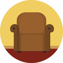 armchair, couch, sofa icon