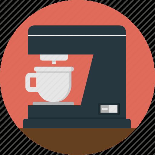 coffee, machine icon
