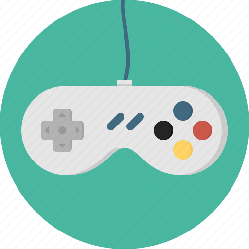 controller, game, joystick icon