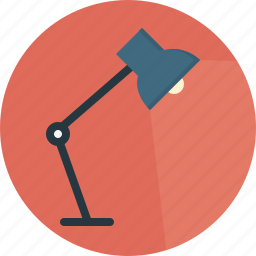lamp, light icon