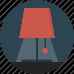 lamp, light icon