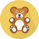 bear, game, tedy icon