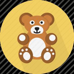 bear, game, tedy icon