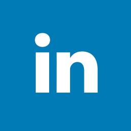 linkedin, octagon icon