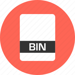 bin, file, name icon