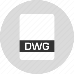 dwg, file, name icon