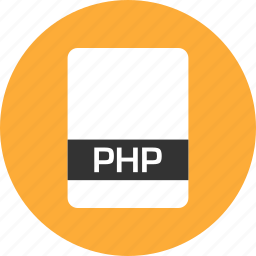 file, name, php icon