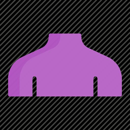 female, human, neck, organ, shoulder icon