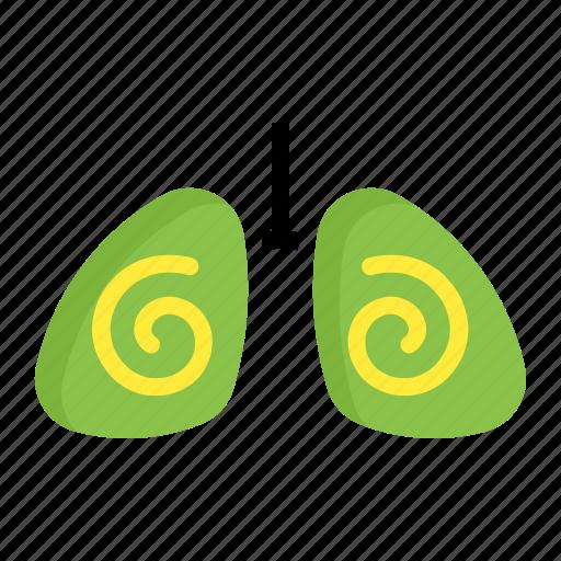 breath, filter, lung, organ, respiration icon