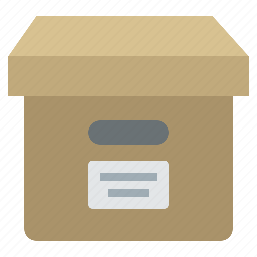 Archive, box, documents, files, package, products, storage icon - Download on Iconfinder